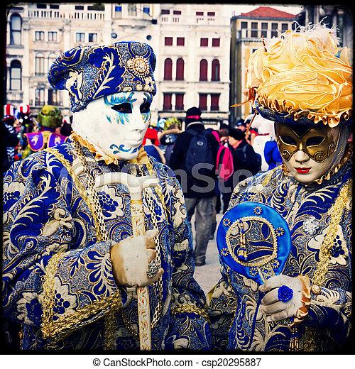 Carnival of Venice - csp20295887