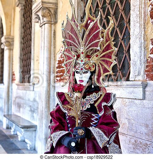 Carnival of Venice - csp18929522
