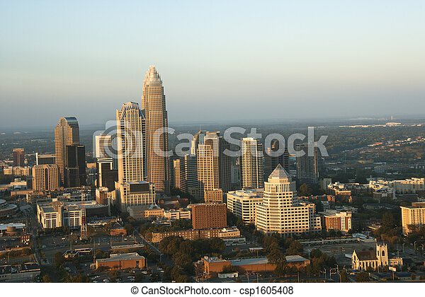 carolina., norte, charlotte - csp1605408