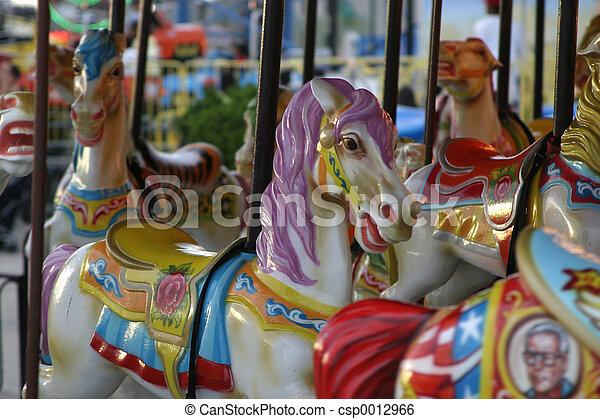 Carousel Horse - csp0012966