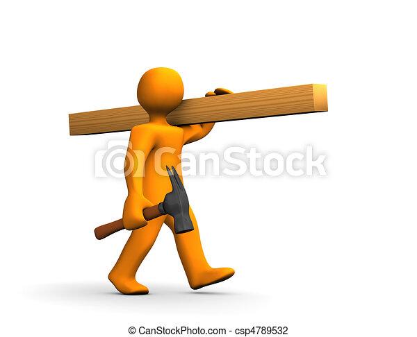 Carpenter - csp4789532