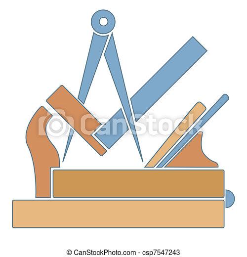 El gremio de los carpinteros - csp7547243
