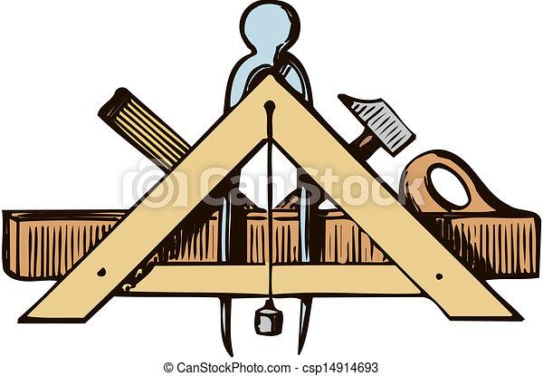 Carpenters tool logo.