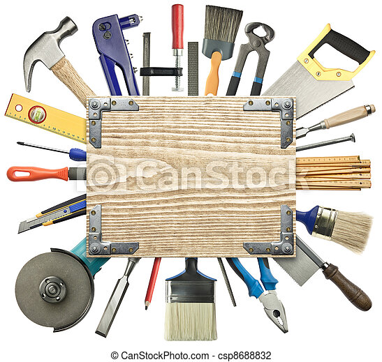 Carpentry background - csp8688832