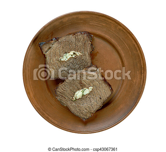 Carpet Bag Steak - csp43067361