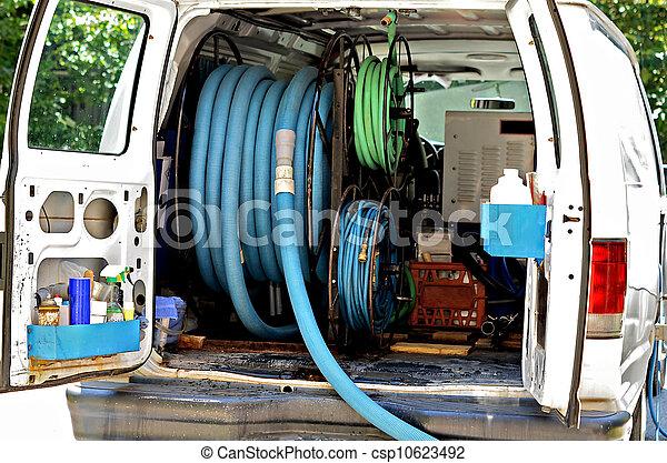 Carpet Cleaning Equipment - csp10623492