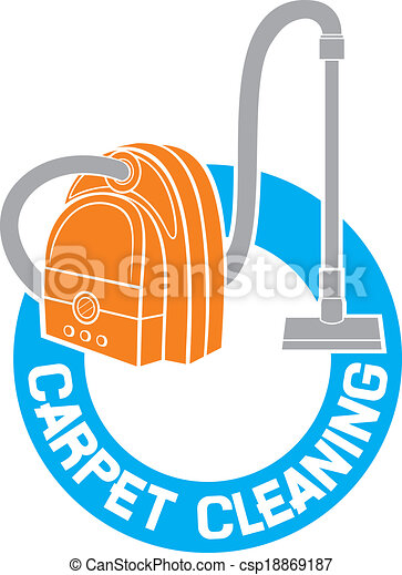 carpet cleaning service sign  - csp18869187