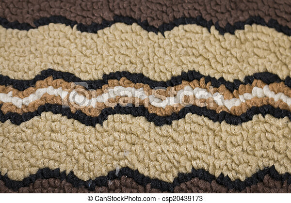 Carpet close-up background texture - csp20439173