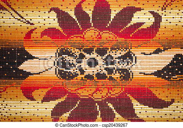 Carpet close-up background texture - csp20439267
