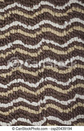 Carpet close-up background texture - csp20439194