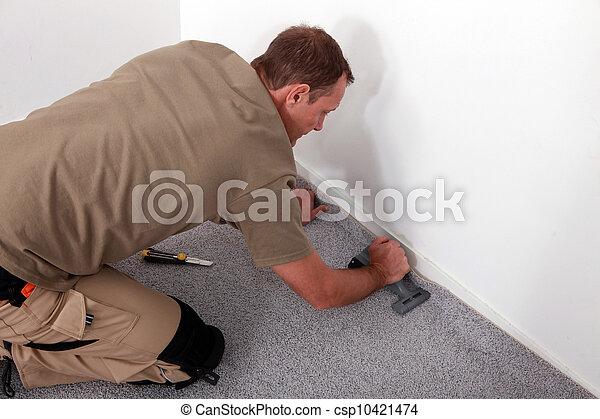 Carpet fitter - csp10421474
