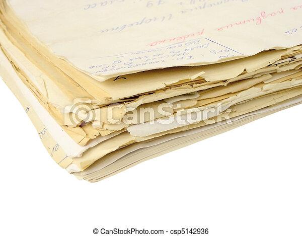 Folder con los documentos aislados - csp5142936
