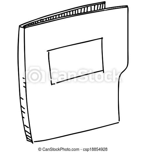 El ícono de la Folder - csp18854928