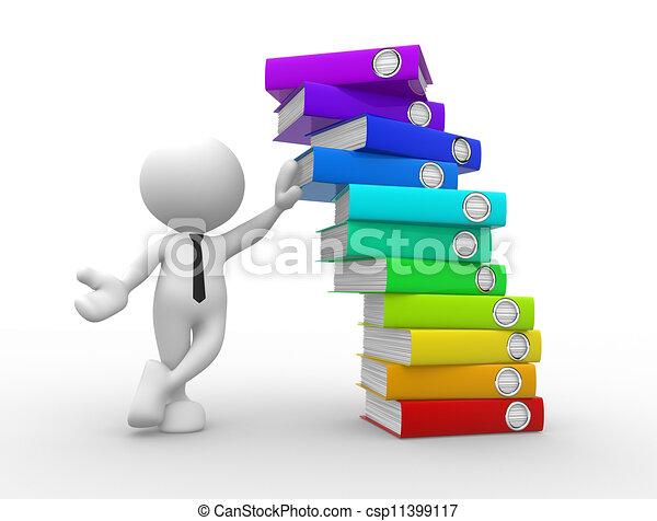 Folders - csp11399117