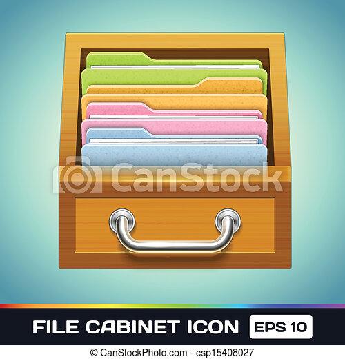 Archivos con iconos - csp15408027