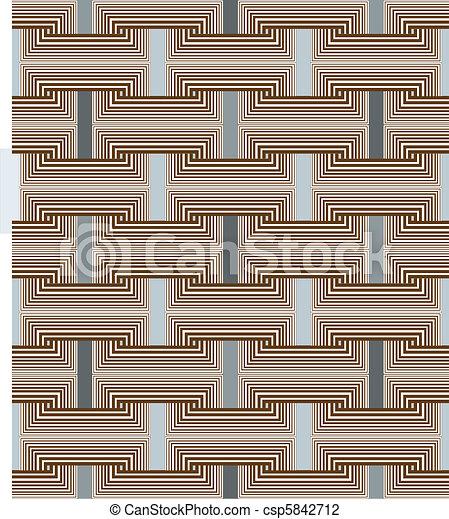 carrée, seamless, liens - csp5842712