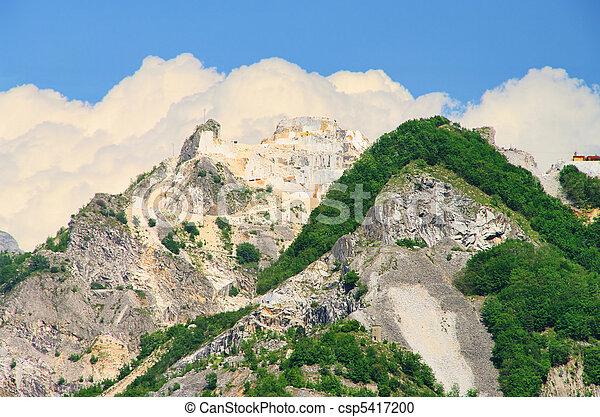 Carrara  marble stone pit 15 - csp5417200