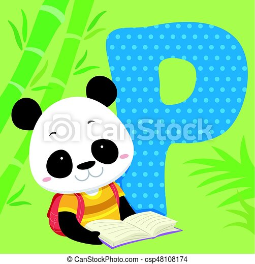 Carreau Alphabet Lire Panda