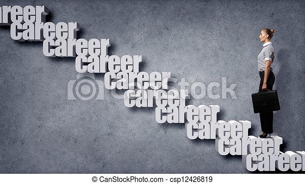 Crecimiento de carrera - csp12426819