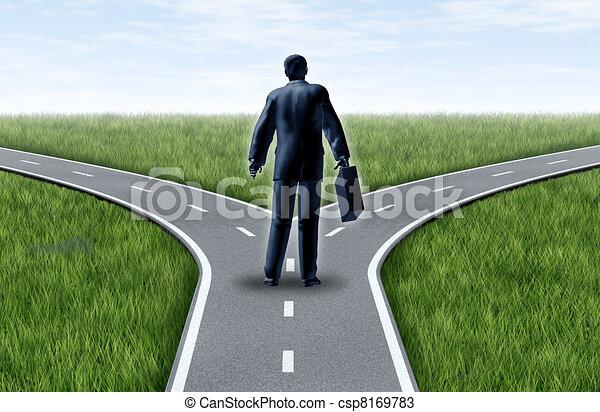 Una decisión profesional - csp8169783
