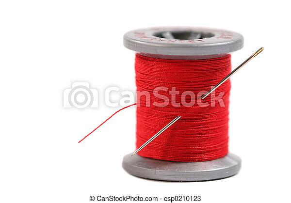 Una bobina de hilo - csp0210123