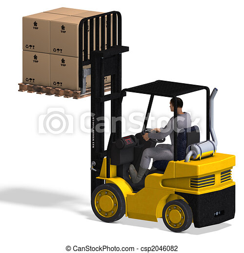 Forklift - csp2046082