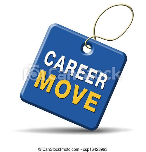 carrière, verhuizen - csp16423993