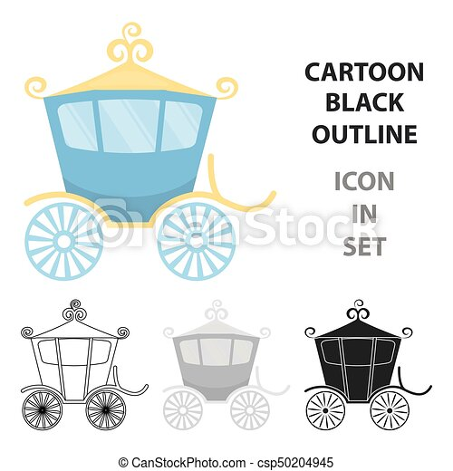 Carriage icon of vector illustration for web and mobile - csp50204945