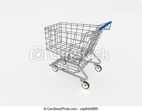 3d carrito de compras - csp8444895