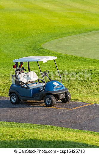 carro golf - csp15425718