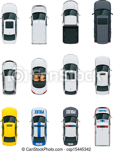 carros, vetorial, jogo - csp15445342