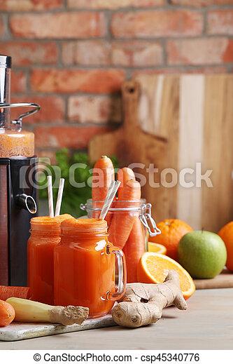 Carrot juice - csp45340776