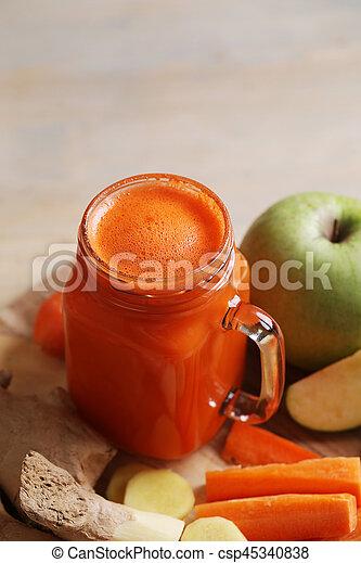 Carrot juice - csp45340838