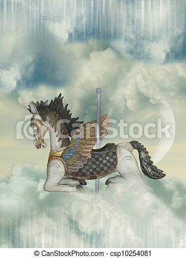Carrousel horse - csp10254081