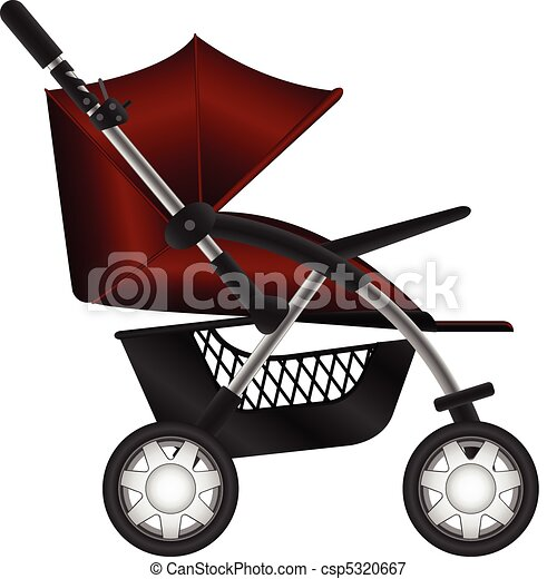 carruagem bebê - csp5320667