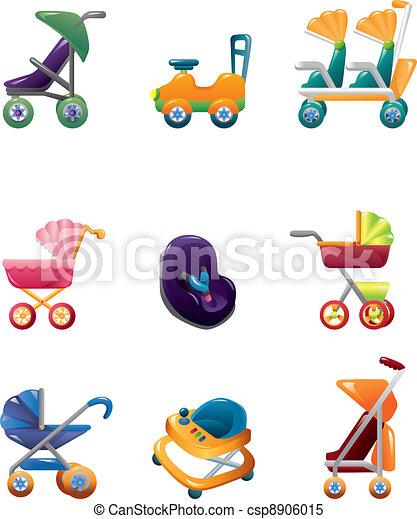 carruagem bebê, jogo - csp8906015