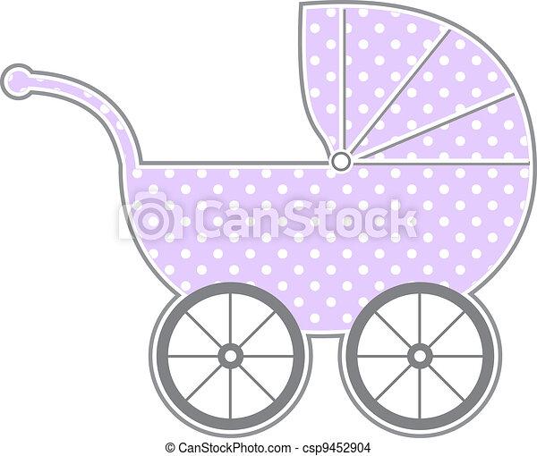 carruagem bebê - csp9452904
