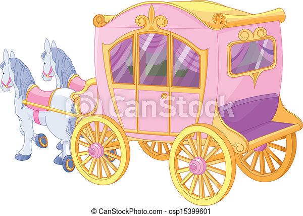 carruagem, princesa - csp15399601
