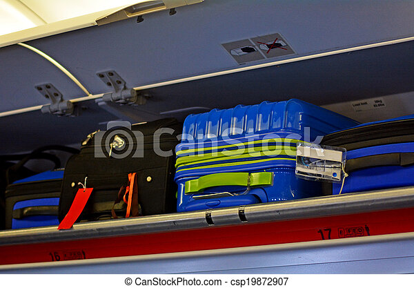 Carry-on and Overhead Baggage - csp19872907