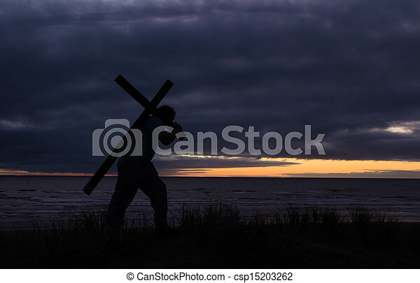 Carry Your Cross - csp15203262
