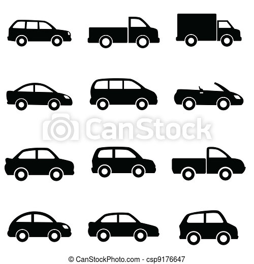 Cars and trucks - csp9176647