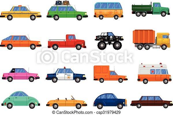 Cars Icons Set - csp31979429