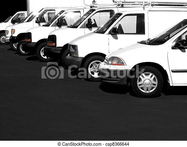 Cars in a Row - csp8366644
