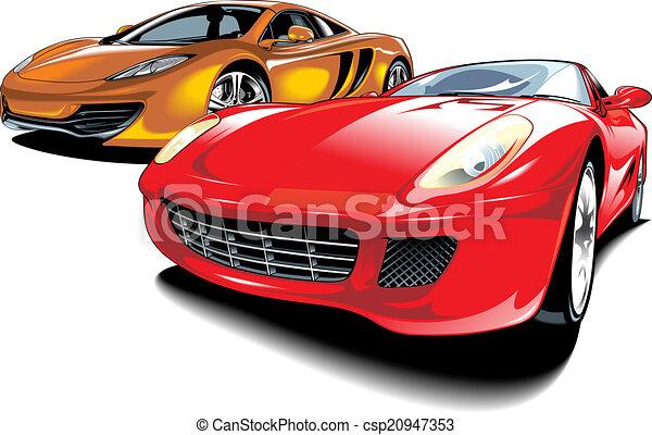 cars of future (my original automobile design) - csp20947353