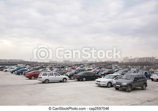 Cars on parking - csp2597046