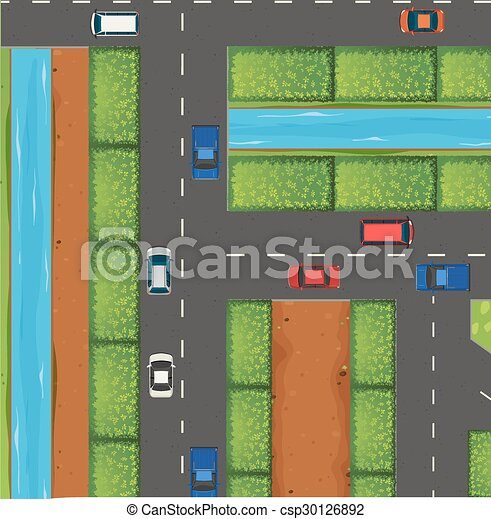 Cars on the road - csp30126892