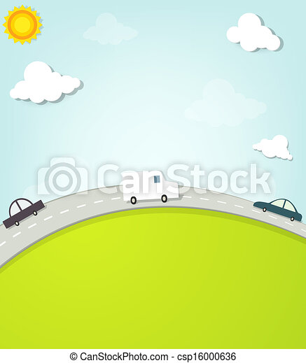 cars on the road - csp16000636