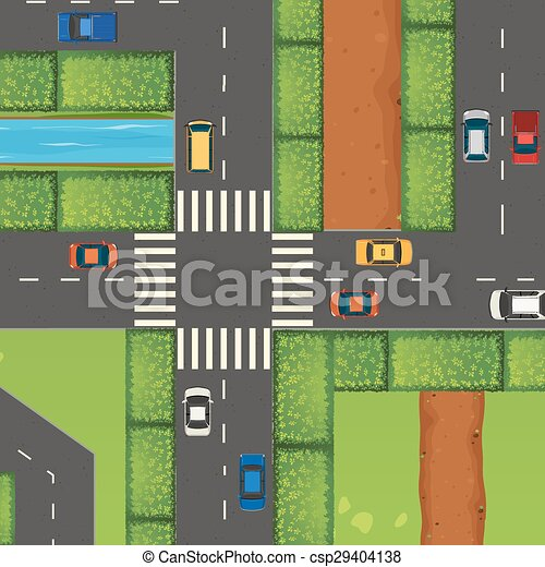 Cars on the road - csp29404138