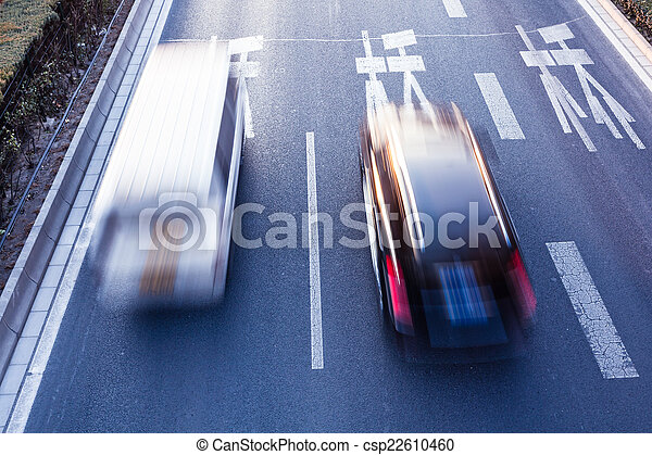 Cars on the road - csp22610460