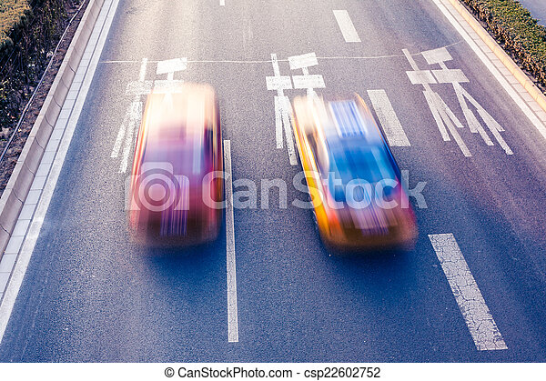 Cars on the road - csp22602752